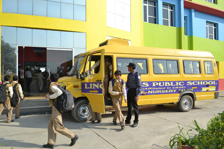 School Transport - Best School in Faridabad   Modern School
