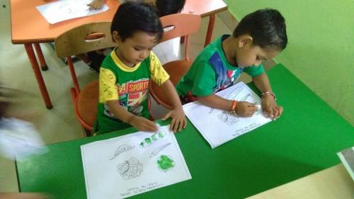 Green day celebration in kindergarten1