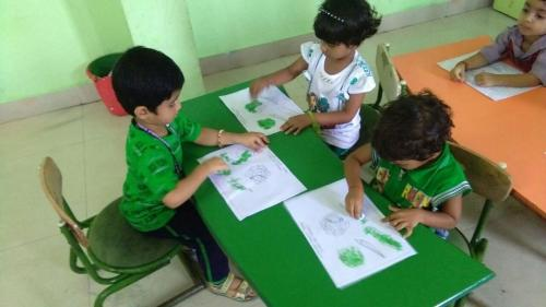 Green day celebration in kindergarten2