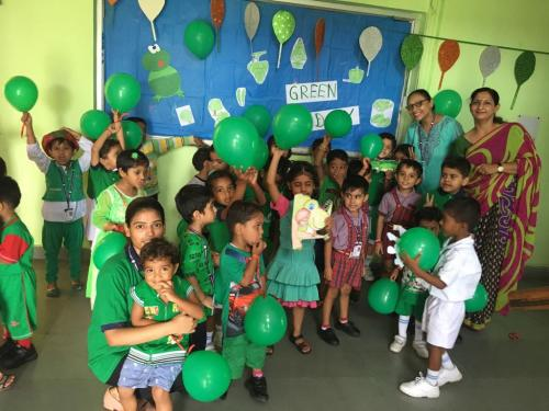 Green day celebration in kindergarten3