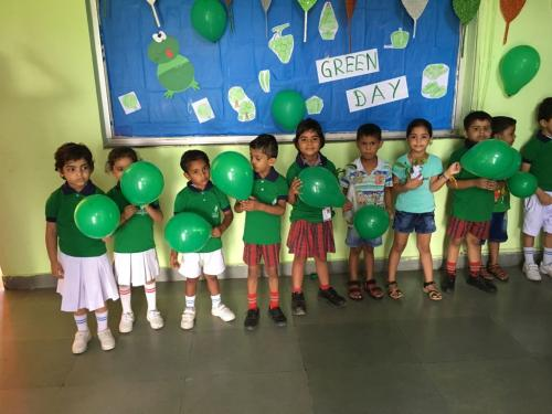 Green day celebration in kindergarten6