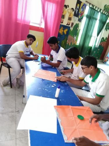 Kite Making & Wall Hanging Activity by Students1