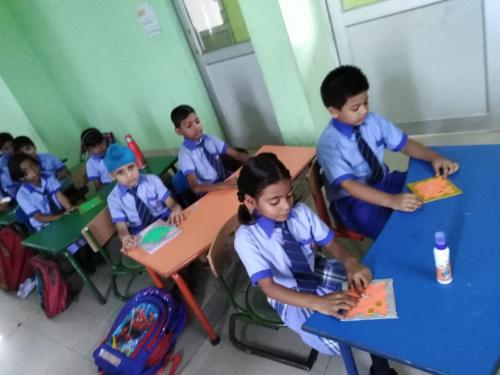 Kite Making & Wall Hanging Activity by Students4
