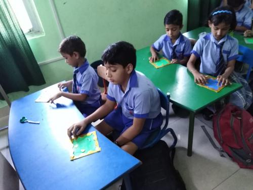 Kite Making & Wall Hanging Activity by Students5