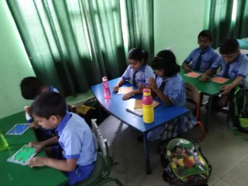 Kite Making & Wall Hanging Activity by Students6