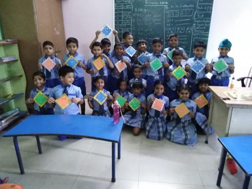 Kite Making & Wall Hanging Activity by Students8