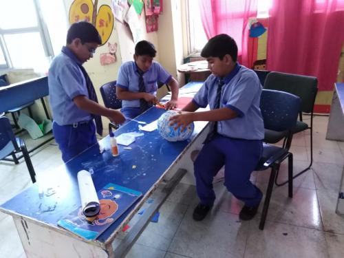 Kite Making & Wall Hanging Activity by Students9